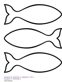 Fish Template | Tag Templates ...