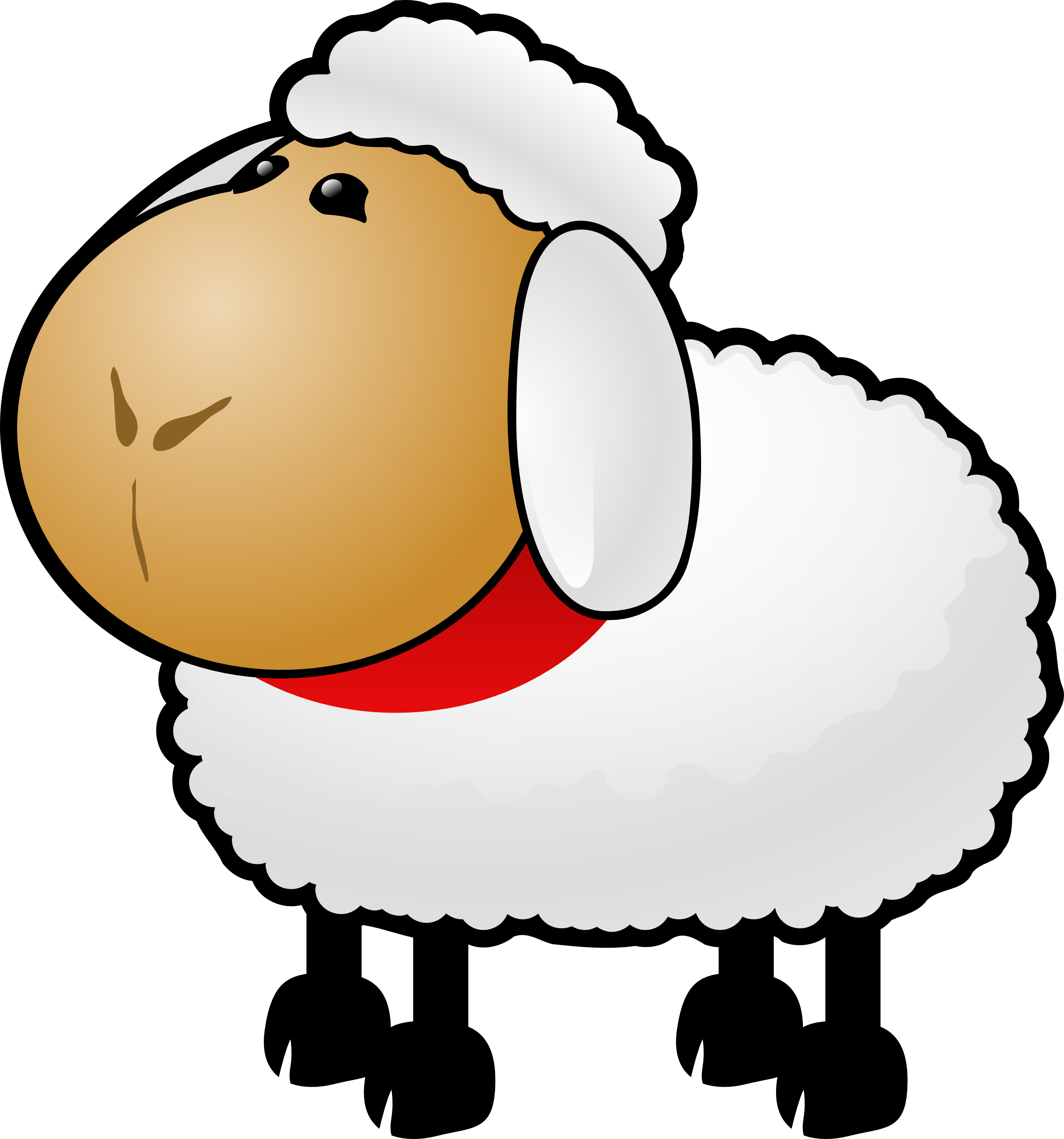 Cartoon sheep pictures clip art