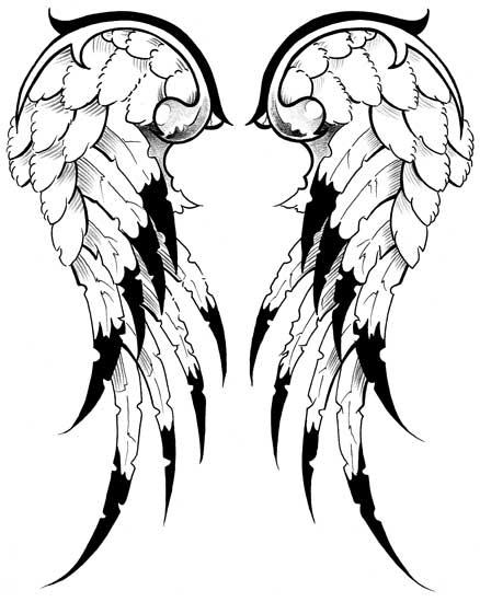 Free Tattoo Line Drawing : Free tattoo line drawings clipart best