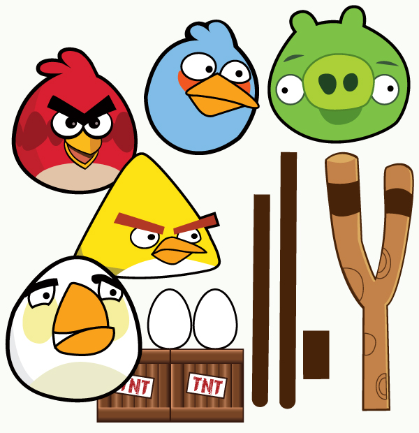 Angry Bird Templates - ClipArt Best