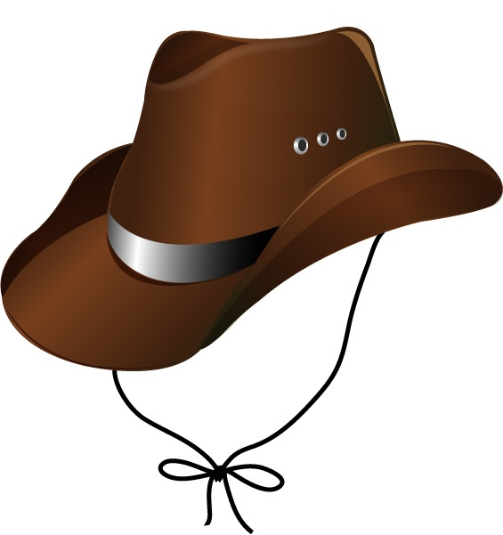 Free Vector Cowboy Hat - ClipArt Best