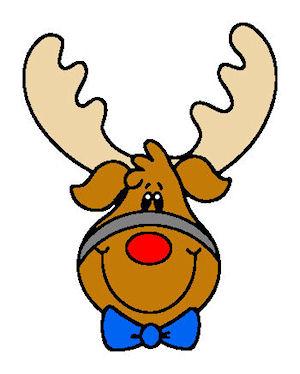 Dragon Crossing: Christmas/Holiday Files - #21 - Reindeer Head
