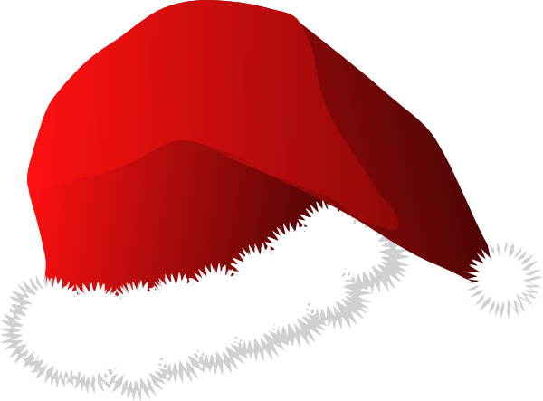 santa hat clipart with transparent background - photo #32