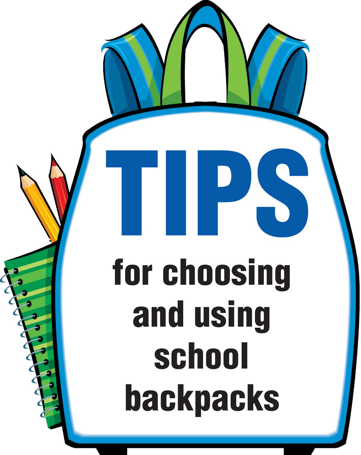 Tips for choosing and using school backpacks