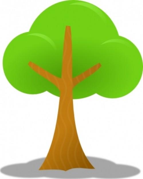 Clipart Trees on Simple Pine Tree Clip Art