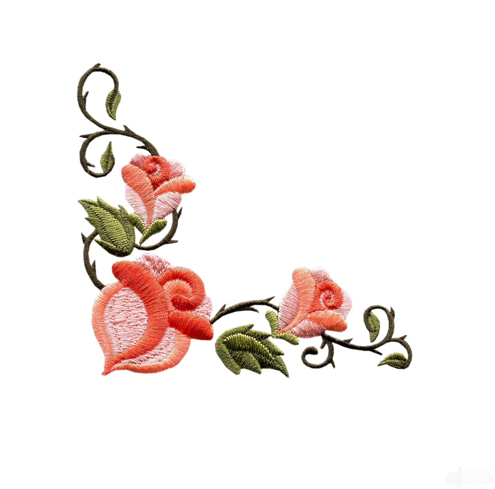 Rose Border Clipart Best