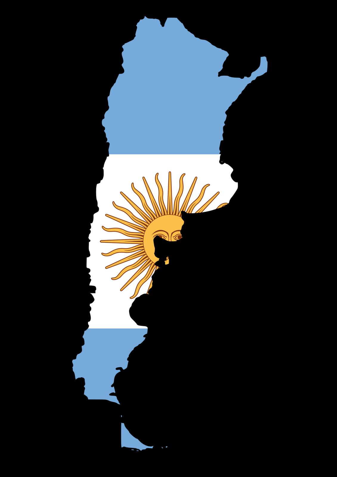Clipart Argentina Flag