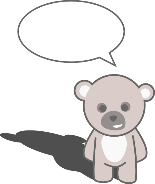 Clipart Of Teddy Bear