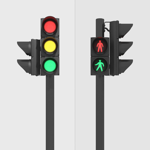 Street Traffic Street Traffic Light Max