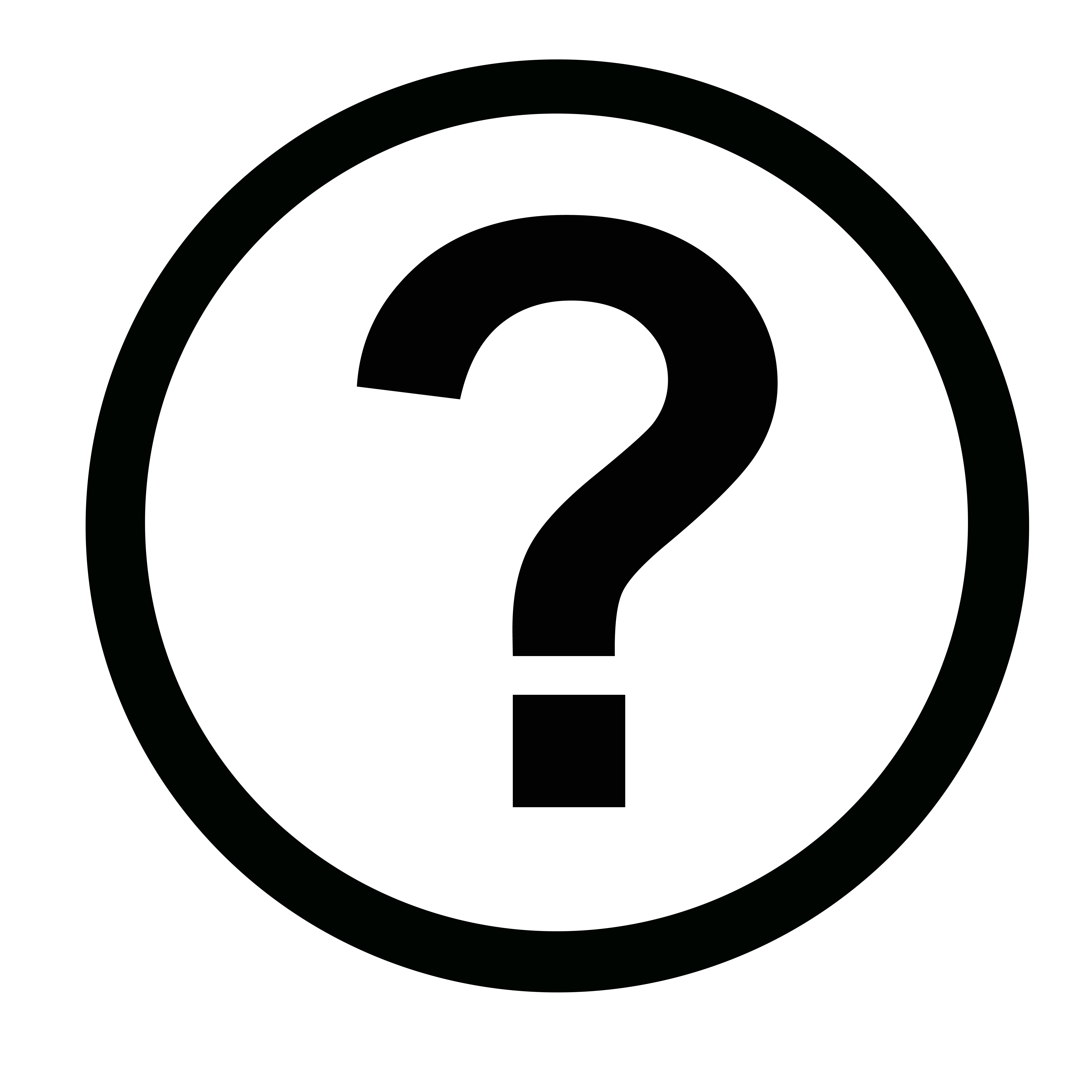 Question Mark Vector Free Icon-round-question Mark