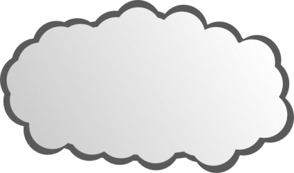 internet cloud vector clipart best