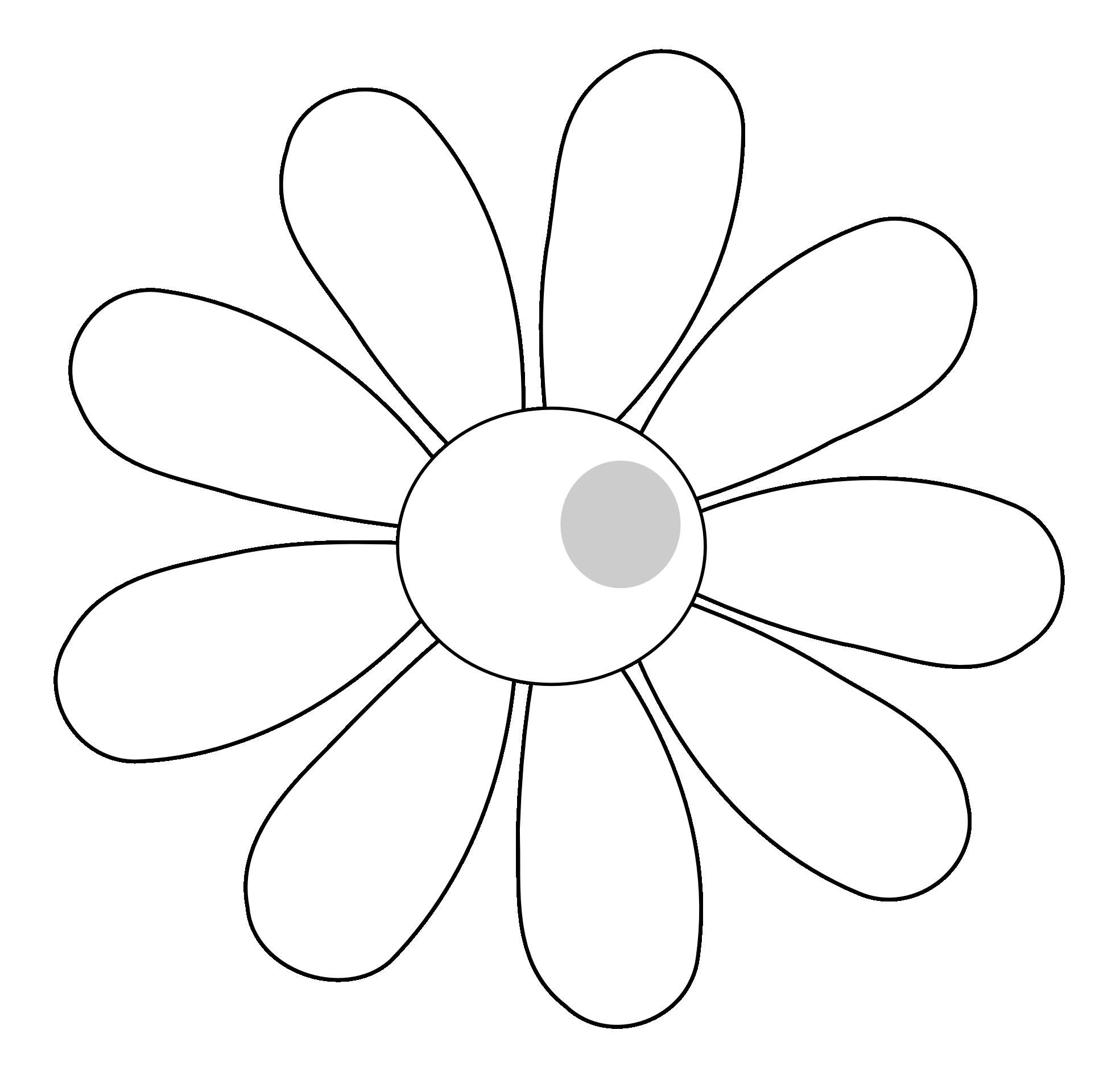 Simple Vector Line Art : Flower clip art free images clipart best