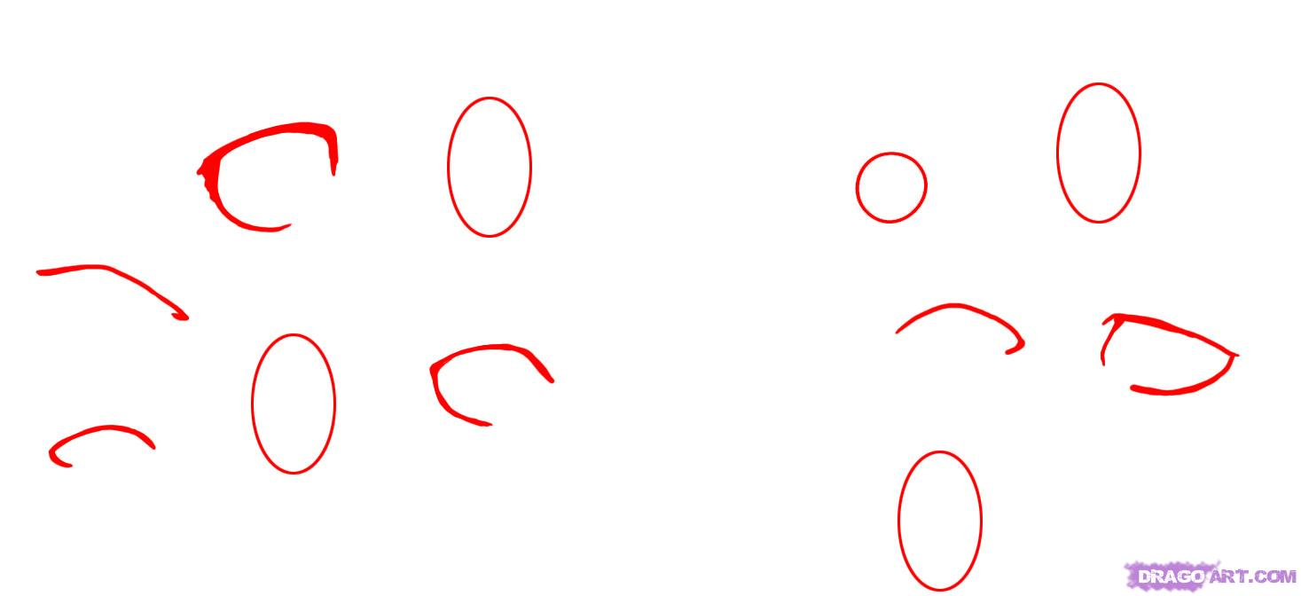How To Draw Cartoon Girl Eyes How to draw cartoon eyes,