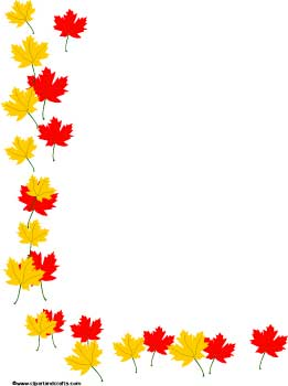 Fall Leaves Border Clip Art Free - ClipArt Best