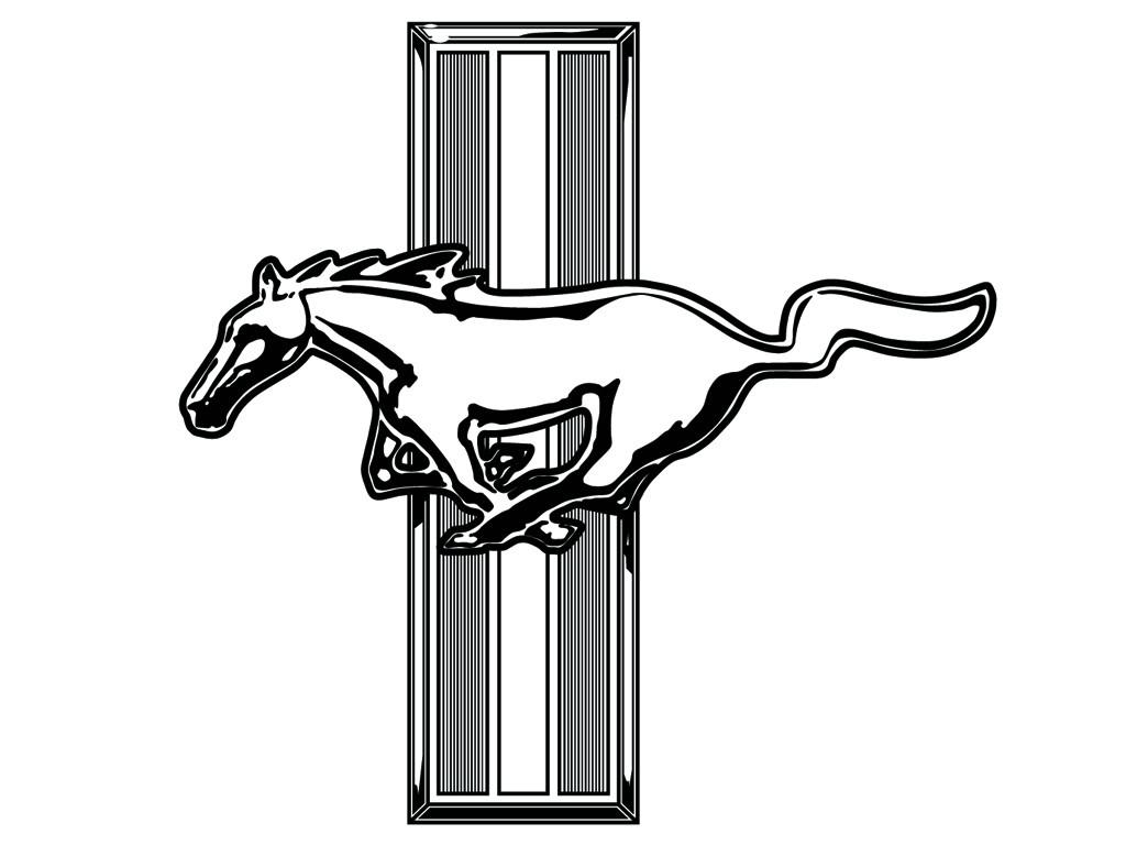 Mustang Logo Vector Clipart Best