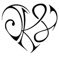 N Alphabet In Heart in a heart tattoo . Free cliparts that you can download to you ...