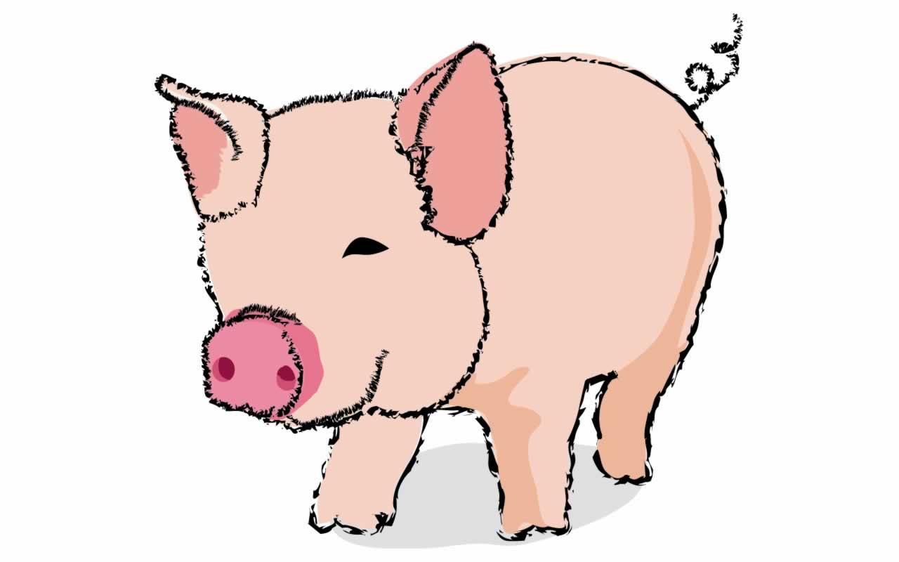 Cartoon pigs clipart best - Pig wallpaper cartoon pig ...