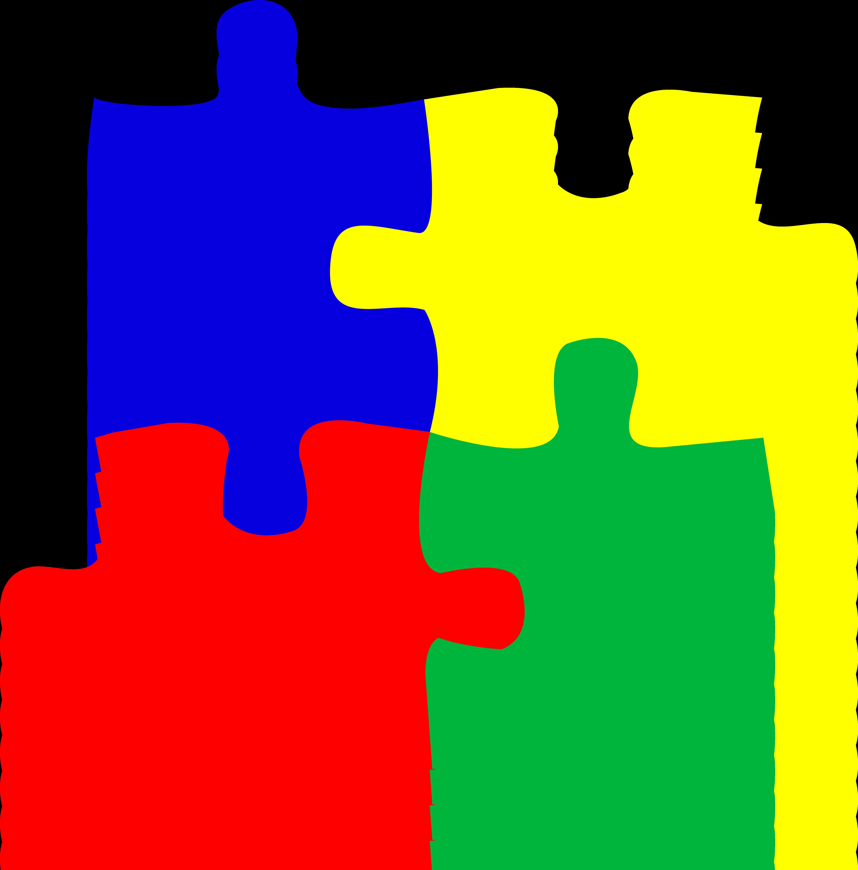 3 Puzzle Pieces Puzzle Piece Clip Art
