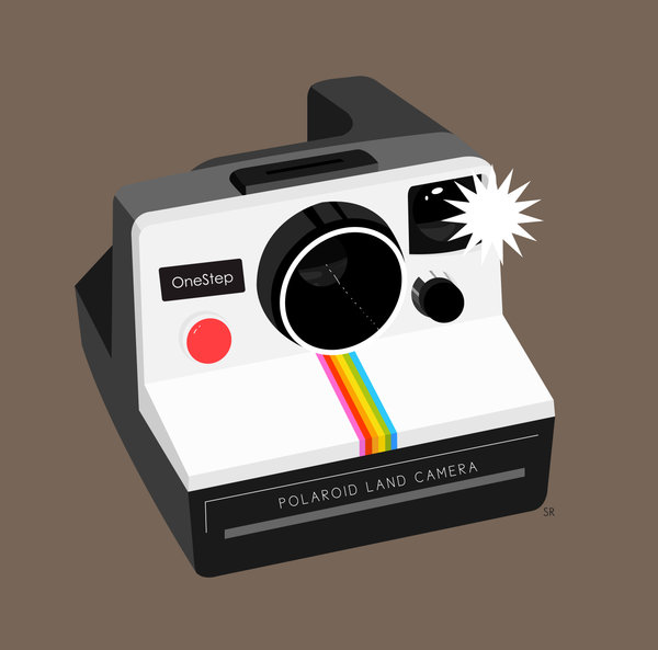 Polaroid Camera Clipart - fedinvestonline