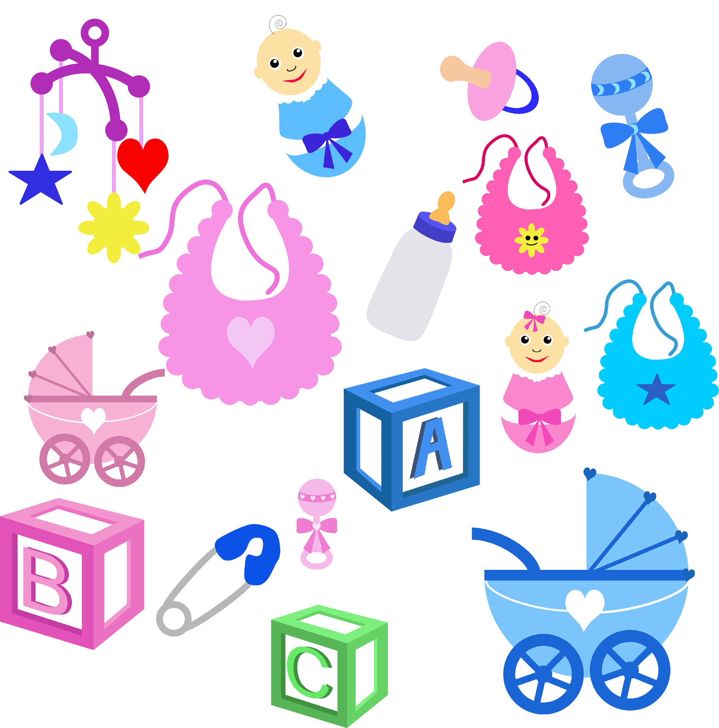 Baby Stuff Pictures Clipart Best