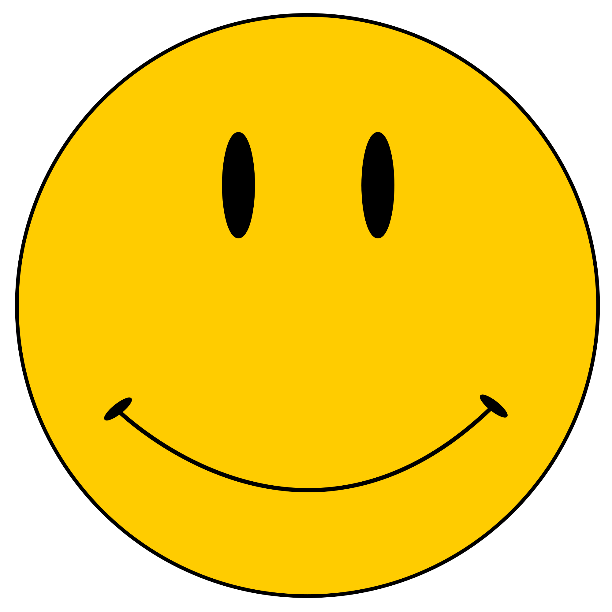 Yellow Smiley - ClipArt Best