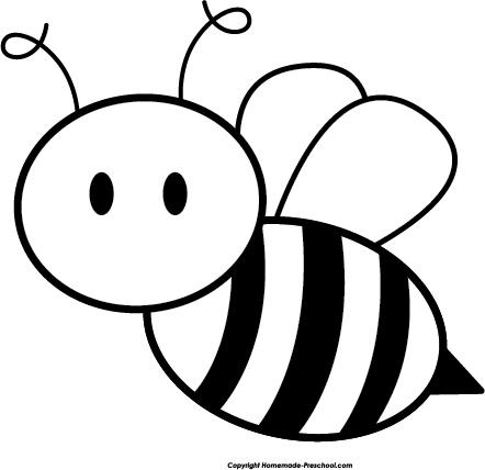 Bumblebee Clipart Black And White Clipart Best