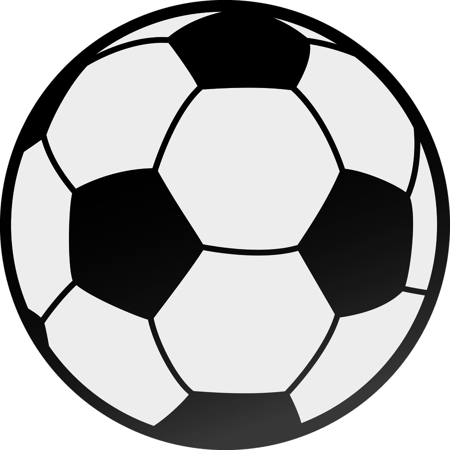 Monster image inside soccer ball printable