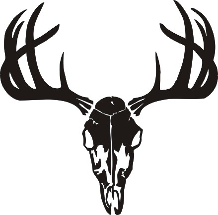 Moose tattoo further Diy Unicorn Headband Template furthermore Skulls Skulls And Cross Bones And Jolly Rogers further Vector Buck Deer 4033966 likewise Deer Outline. on black and white deer head