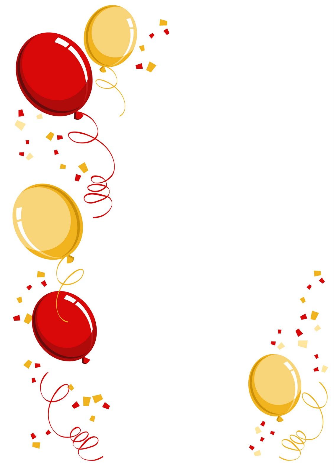 Balloon Border - ClipArt Best