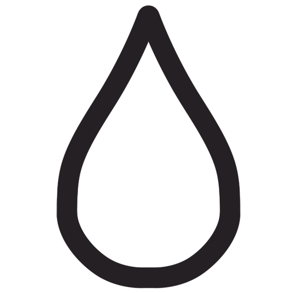 water droplet outline  clipart best