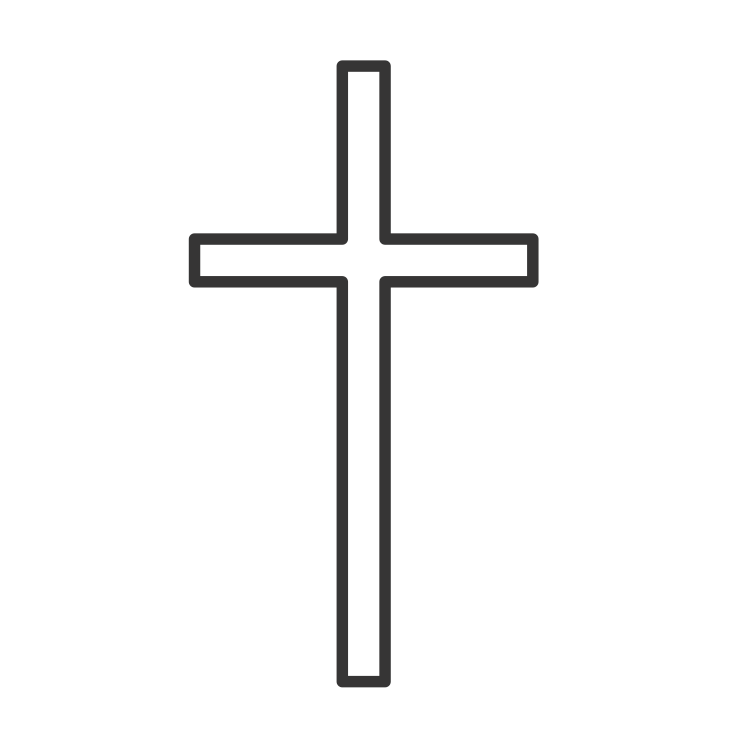 Simple Cross Outline