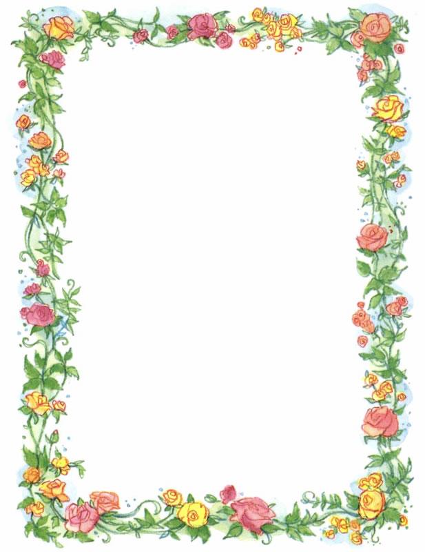 Floral Border Image - ClipArt Best