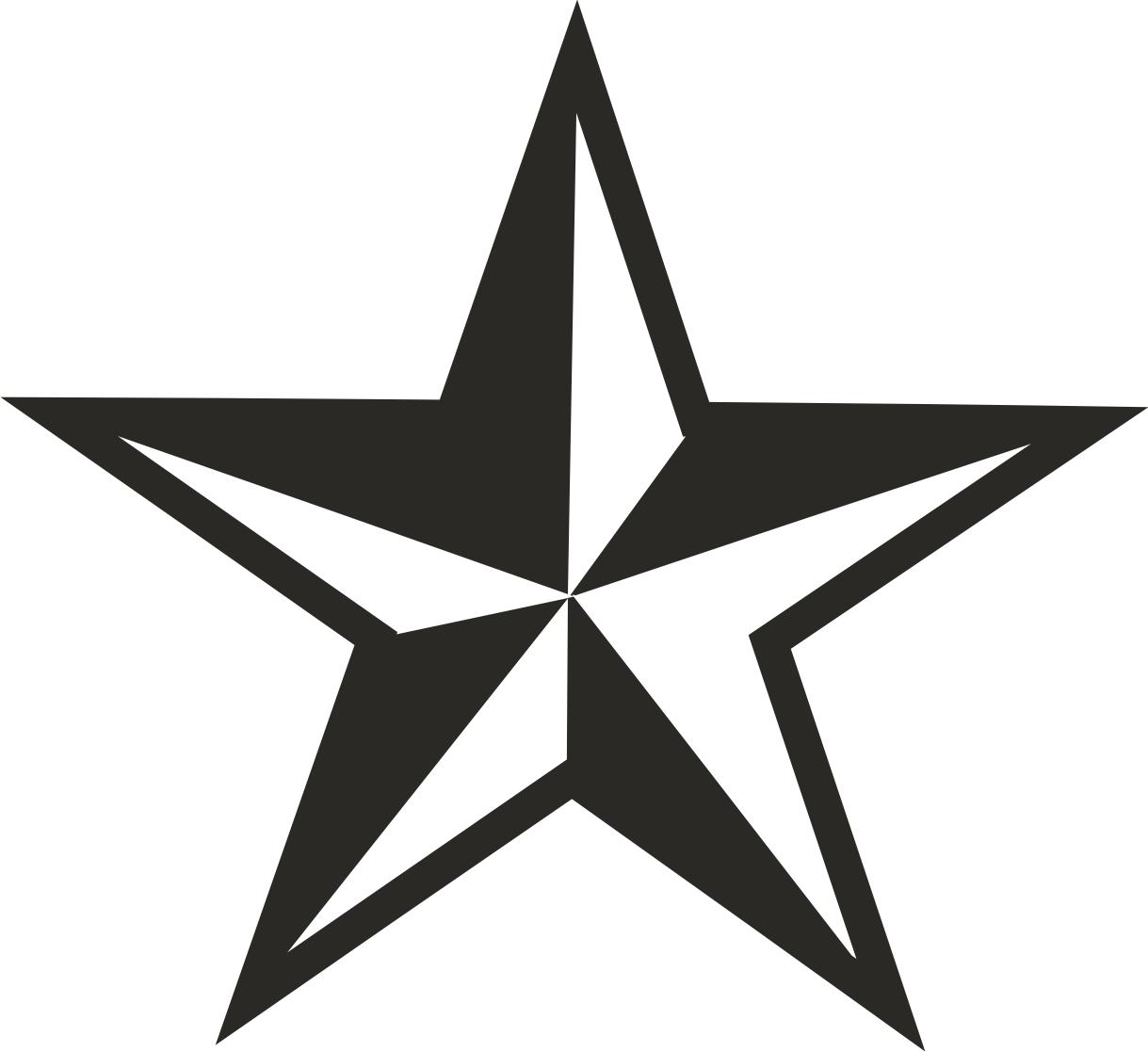 Line Art Star : Star line art clipart best