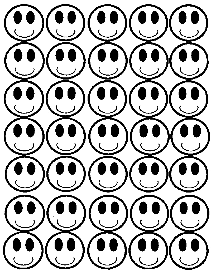 Printable Smiley Faces ClipArt