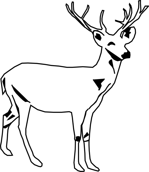 Buck Logo Coloring Page
