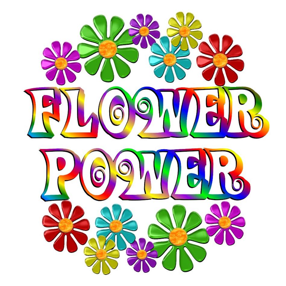 flower power logo clipart best