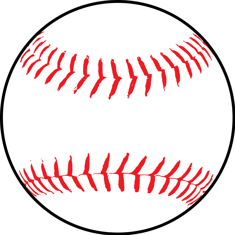 Softball vector art clipart best for Softball vector free download