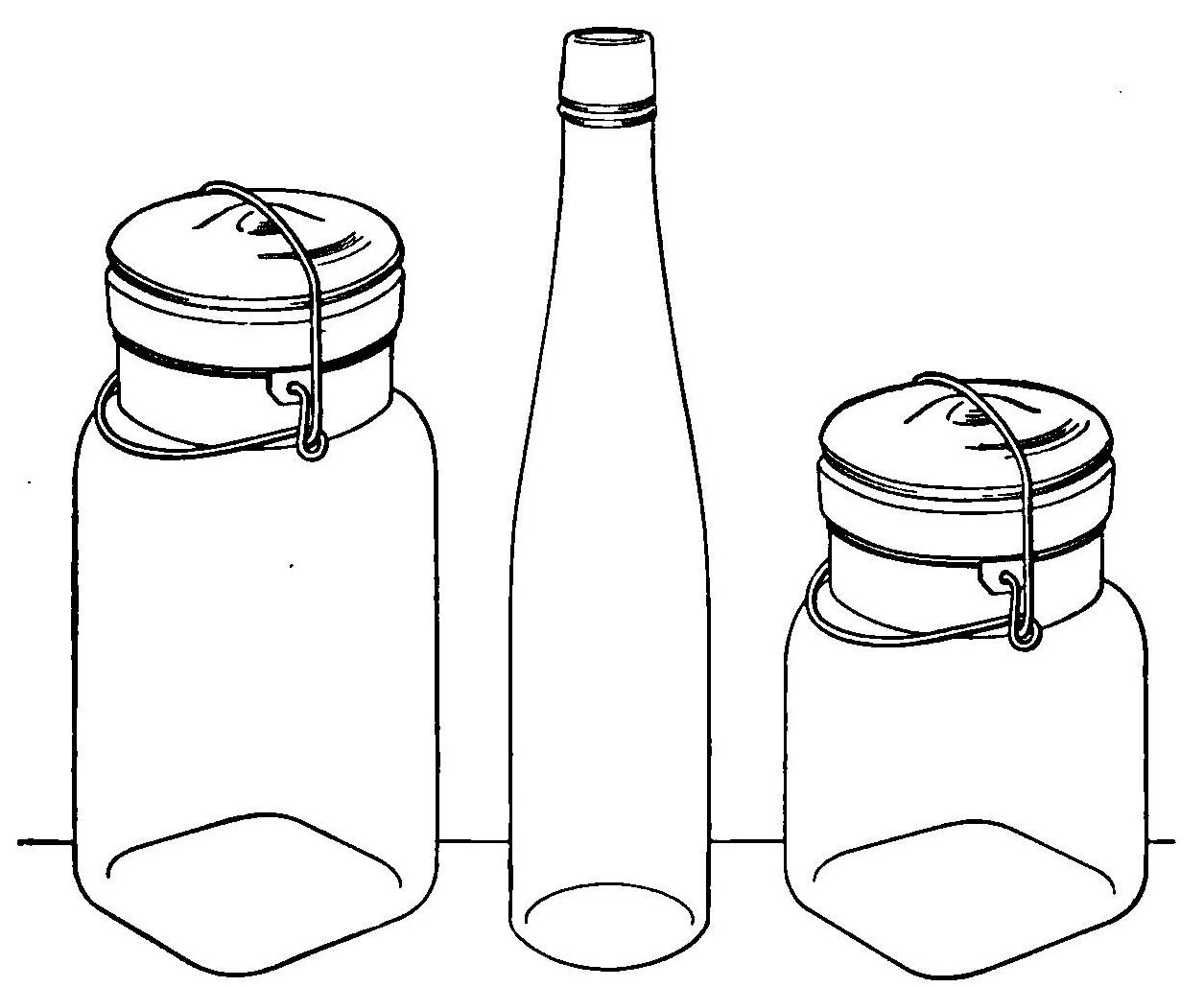 free clipart glass jar - photo #40