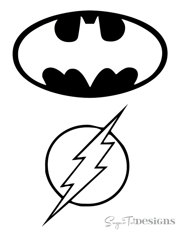 Free Printable Batman Logo