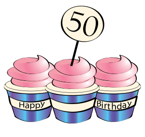 Funny 50th Birthday Clip Art - ClipArt Best