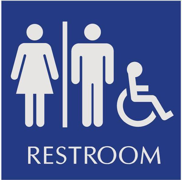 Women And Men Bathroom Signs ClipArt Best