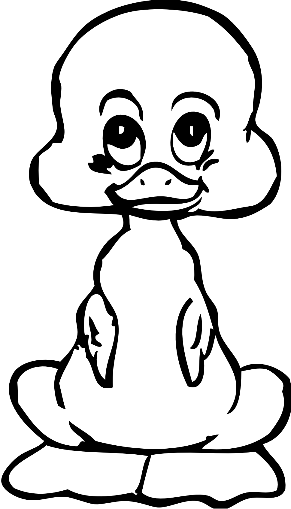 Line Art Duck : Duck line drawing clipart best