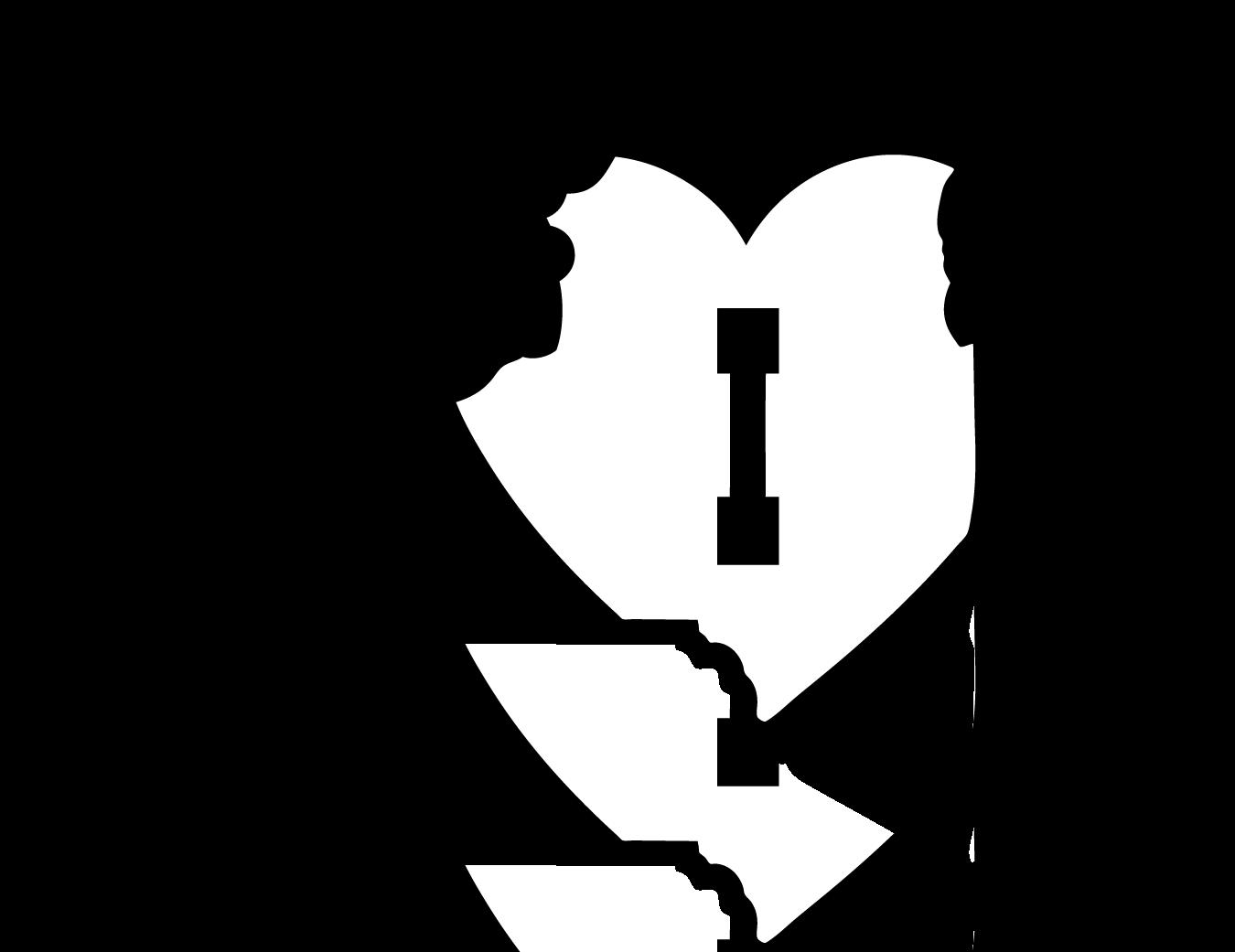 I Heart NY State Outline (NY11) NY11 - $4.99 : Eyecandy ...