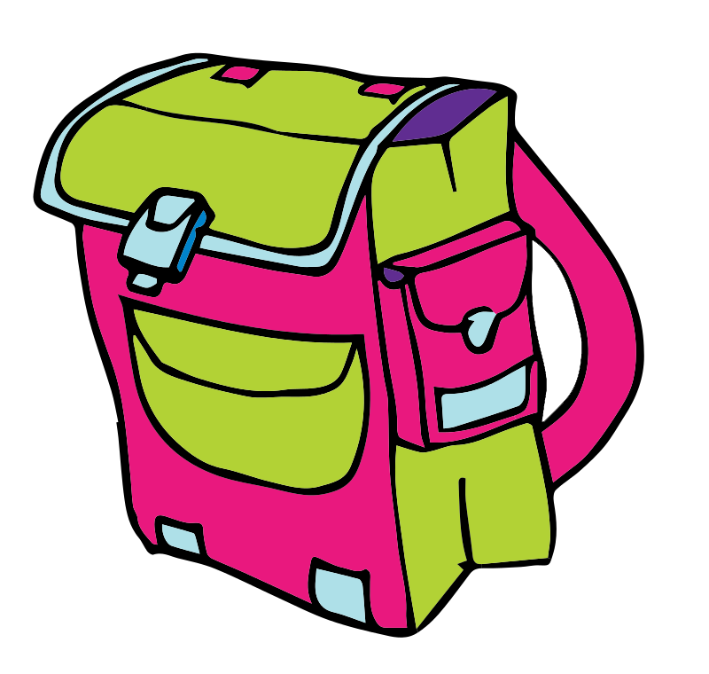 backpack clipart free