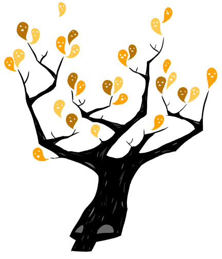 clip art dying tree - photo #45