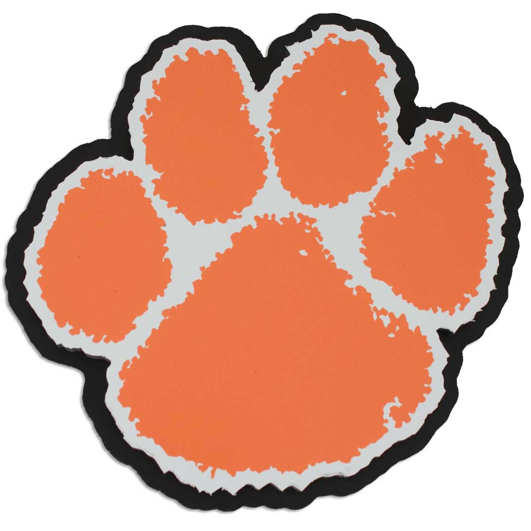 Best Print Tiger - Paw ClipArt