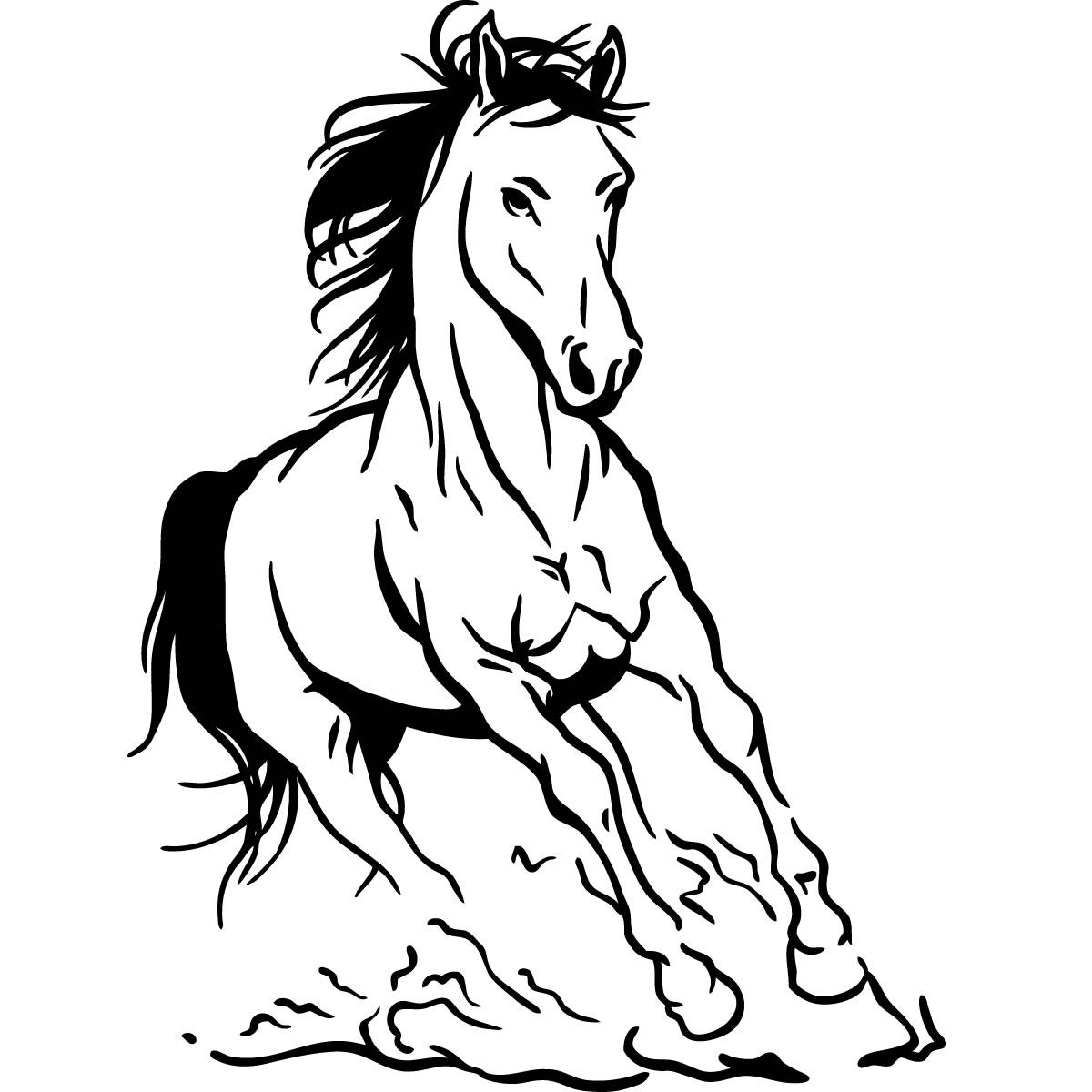 Horse Pictures Art Clipart Best