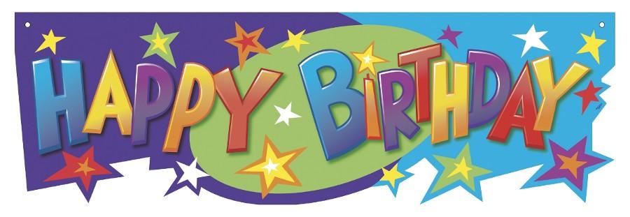 Happy Birthday Sign - ClipArt Best