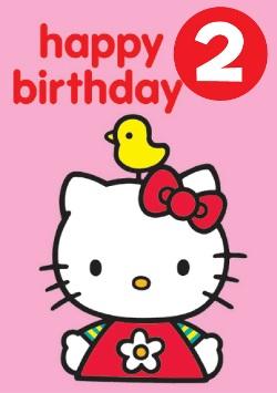 Hello Kitty - 2nd Birthday ( - ClipArt Best - ClipArt Best