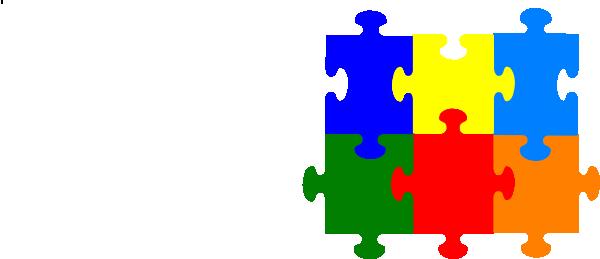 Jigsaw Puzzle Piece Clipart Jigsaw Puzzle 6 Pieces Clip